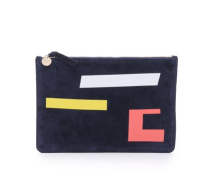 Clare V. Colorful Clutch